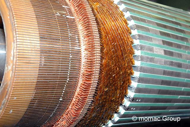 Neuwicklung Gleichstrommotoren, Gleichstromwicklung