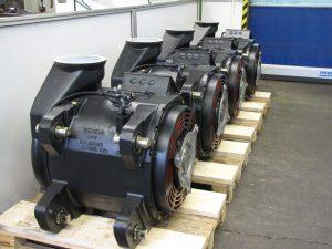 Bahnantrieb / Fahrmotor ER20 Siemens - nach der Revision / Instandsetzung im Rahmen der Hauptuntersuchung (HU)Service, Wartung und Instandsetzung von ER20 Fahrmotoren / Bahnmaschinen