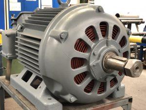 Elektromotor Siemens Schuckert Service Wartung Revision Instandsetzung Reparatur