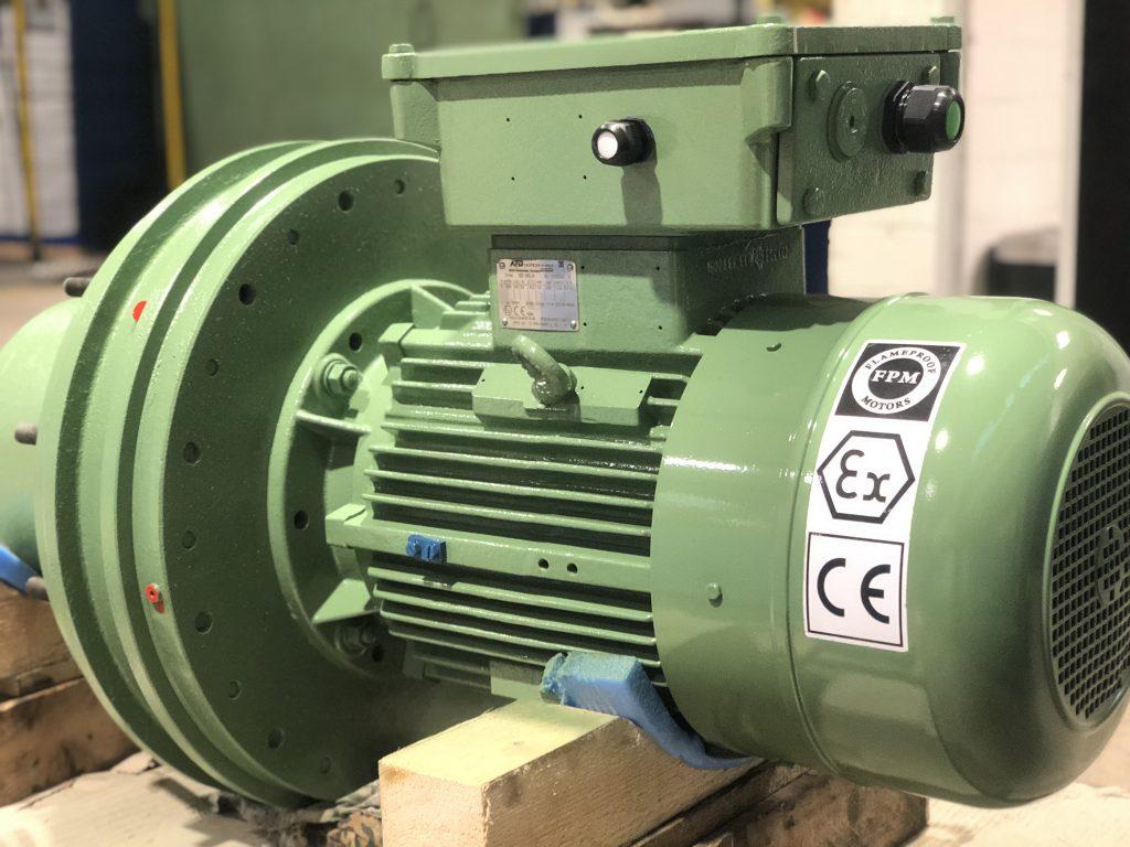 Instandsetzung / Revision von ATEX Elektromotoren und Getriebemotoren