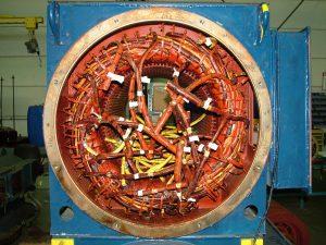 Instandsetzung von Windkraftgeneratoren aller Hersteller, hier ABB Generatoren aus VESTAS Windenergieanlagen