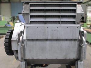 Revision von Stamford Generatoren Typ LVSI804T2 aus MTU Blockheizkraftwerken (BHKW), hier vor der Instandsetzung / Reparatur