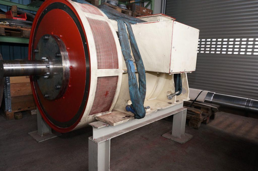 Revision und Instandsetzung / Reparatur von VEM Bahngeneratoren Typ DREBZ 5620-8