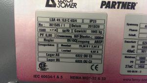 Revisionen und Reparatur / Instandsetzung von Leroy Somer Generatoren LSA49.1 L9C6S4 aus Blockheizkraftwerken (BHKW)